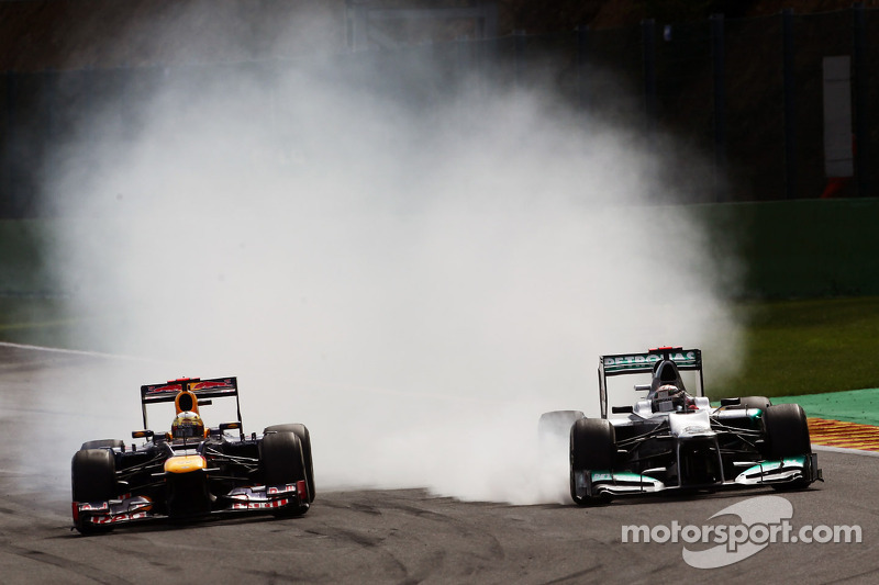 Formula One champions' Schumacher and Vettel prepare for 2012 ROC in Bangkok