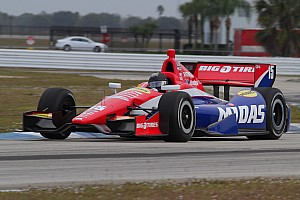 IndyCar Testing report Rahal's Sebring testing shorten by rain on second day