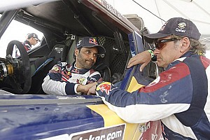 Dakar Stage report Al-Attiyah wins stage 6 as his teammate Sainz retires