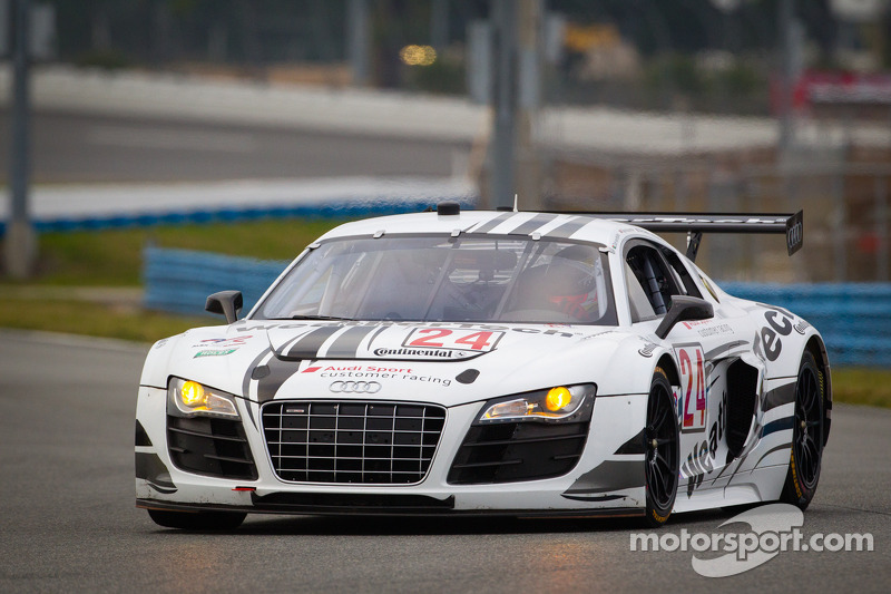 Audi to pace field at the Daytona 24H