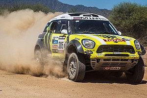 Dakar Stage report Third win for Mini's Roma and Périn on stage 12