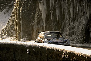 WRC Leg report Volkswagen's Ogier maintains second place on third day of Rally Monte Carlo