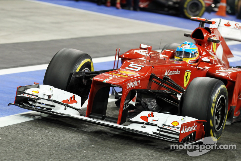 Ferrari to evolve 'pull-rod' layout for 2013
