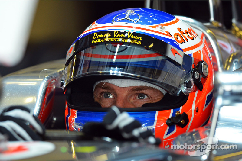 Jenson Button looks ahead to the 2013 F1 season