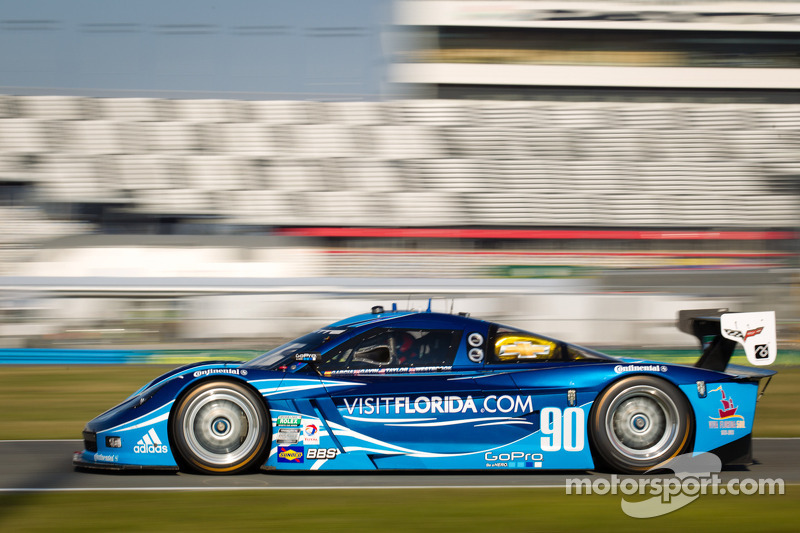 Spirit of Daytona fifth on Daytona 24H grid