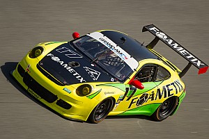 Grand-Am Qualifying report Burtin and his FOAMETIX/Z-Value Porsche team satisfied with qualiying at Daytona