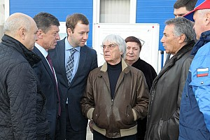 Formula 1 Breaking news Ecclestone 'super impressed' on Sochi visit
