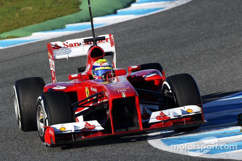 Ferrari F138 - Positive first impressions in Massa