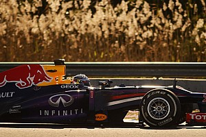 Formula 1 Testing report Vettel happy with his first day of testing in Jerez