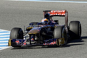 Formula 1 Testing report Toro Rosso is satisfied with Jerez tests