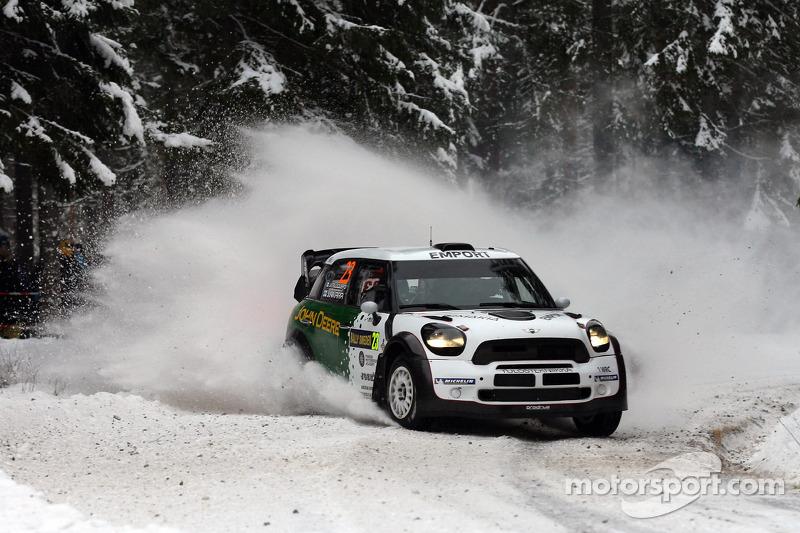 Prodrive's Nikara shows pace leg 2 of Rally Sweden