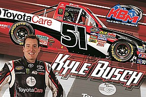 NASCAR Truck Preview Kyle busch looking to take 'care' of Toyota's 100th Truck Series victory