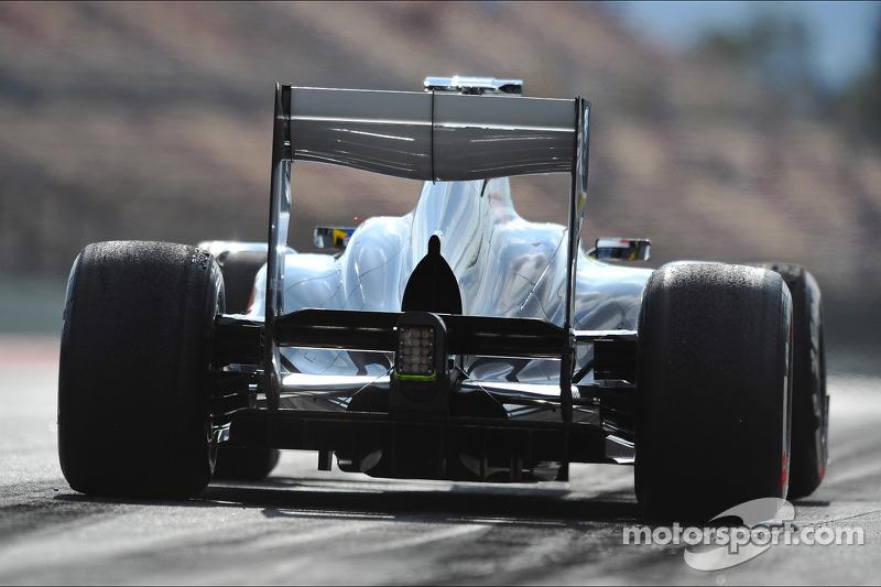 Sauber completed aero test under rain showers in Barcelona