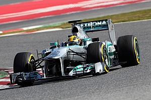 Formula 1 Breaking news Mercedes 'stuns rivals' with final test pace