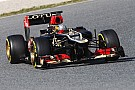 Lotus' Valsecchi made his E21 debut on Barcelona Day Three