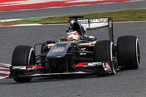 Formula 1 Testing report Sauber had technical issues on the final day of winter testing in Barcelona