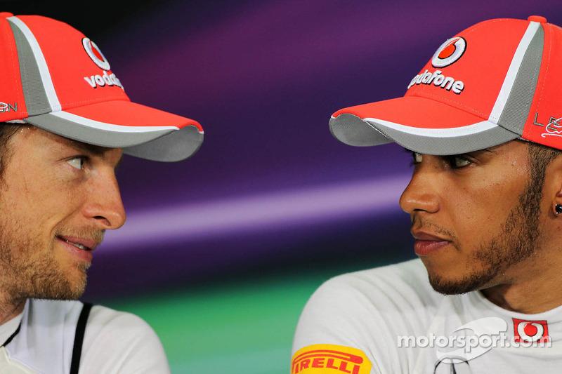 Button rivalry 'not exciting' - Hamilton