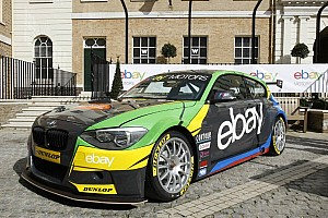 BTCC Breaking news Ebay Motors show their colors for 2013