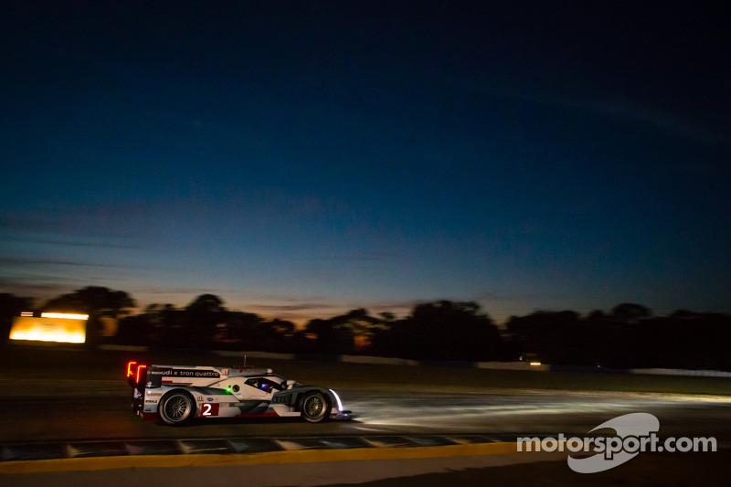 Kristensen gives Audi Thursday sweep at end of Sebring's night practice