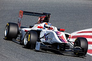 GP3 Testing report Positive end for Facu Regalia in Barcelona