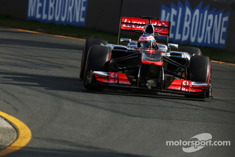 McLaren electronics causing trouble in Melbourne