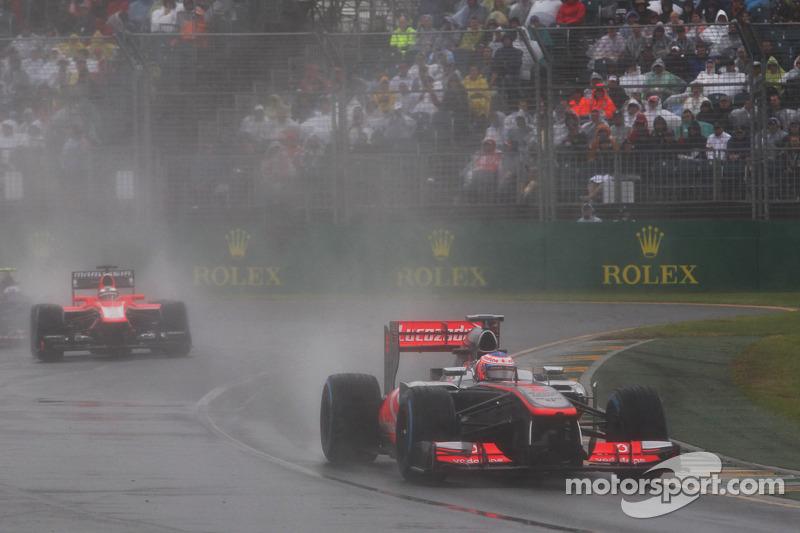 Melbourne set for Sunday qualifying after washout