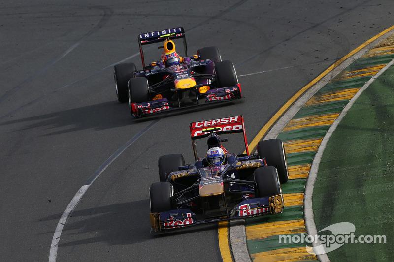 Good season start for Scuderia Toro Rosso in Melbourne