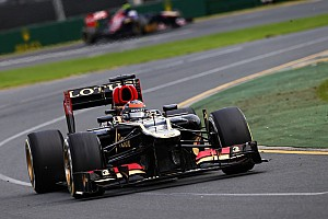 Formula 1 Race report Lotus F1 Team leads championship with Raikkonen taking the Australian GP win