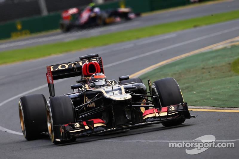 Lotus F1 Team leads championship with Raikkonen taking the Australian GP win