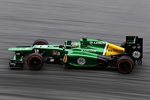 Formula 1 Practice report Caterham expect a good qualifying after a good Friday practice at Sepang