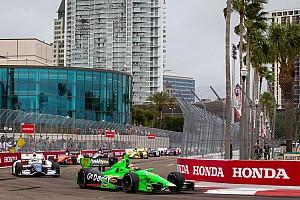 IndyCar Race report Hinchcliffe scores maiden win in St. Petersburg