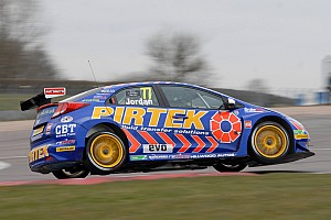 BTCC Qualifying report Andrew Jordan storms to pole at Brands Hatch