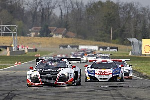 Blancpain Sprint Race report The Belgian Audi Club Team WRT starts the season with a 1-2 win at Nogaro