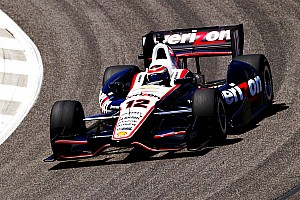 IndyCar Race report All three Team Penske cars in top eight at Barber practice
