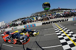 NASCAR Truck Race report Sauter goes two for two with Martinsville victory