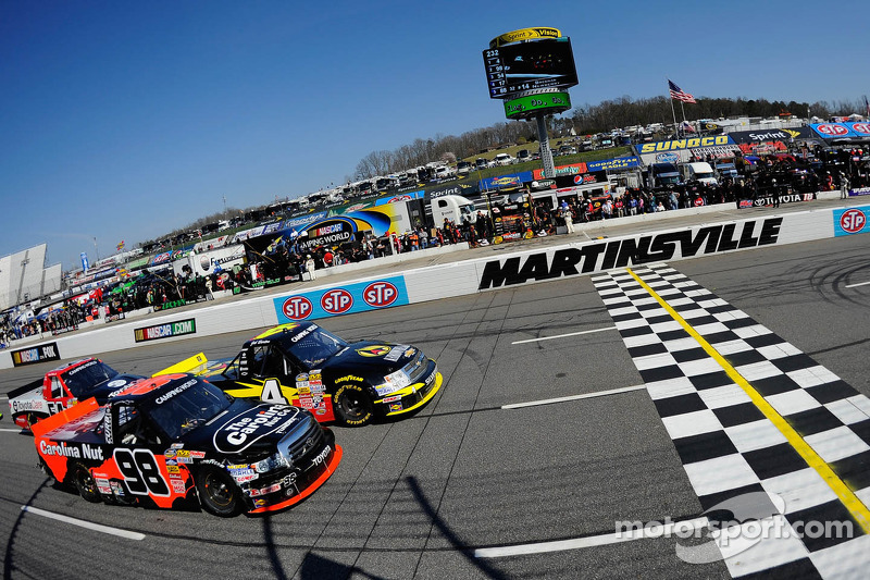 Sauter goes two for two with Martinsville victory