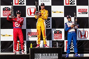 IndyCar Race report Hunter-Reay bounces back to score the win at Barber Motorsports Park