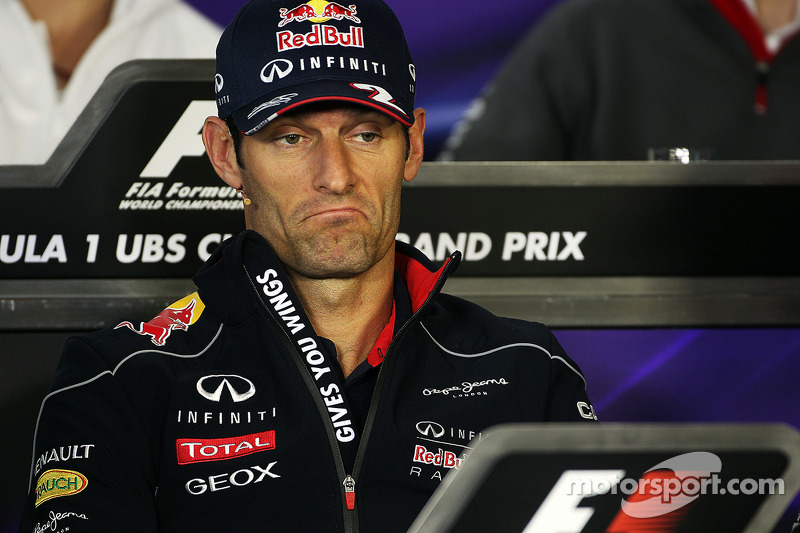 Webber - from 'Multi-21' to the back of the grid