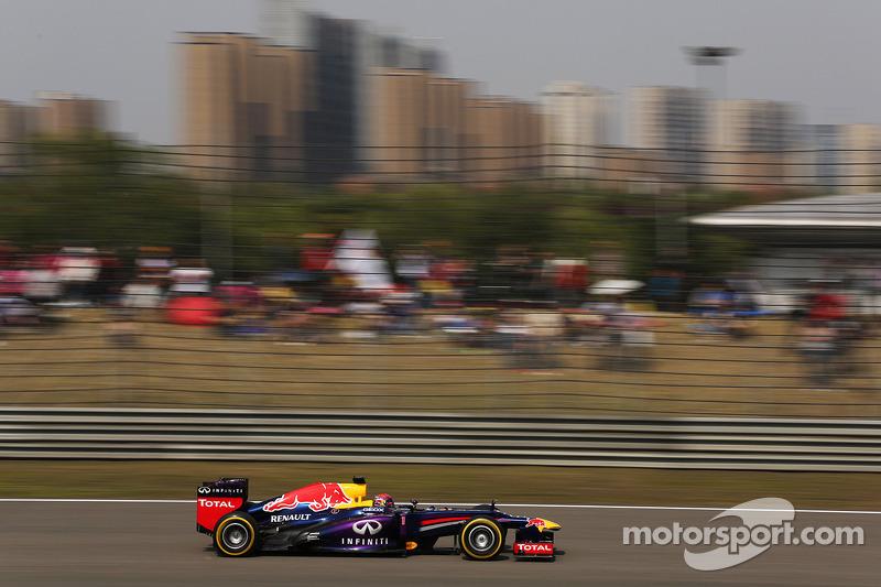 Top five finish for Sebastian Vettel at Chinese GP