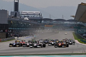 GP2 Preview Frijns and Rossi join the battle as GP2 teams arrive in Sakhir