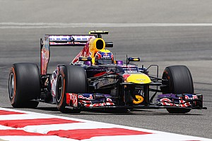 Formula 1 Practice report Both Red Bull drivers saw strong competitors on Friday practice at Sakhir