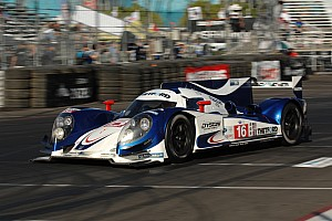 ALMS Qualifying report Dyson Racing qualified on the front row for the race on the streets of Long Beach