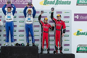 Grand-Am Race report Gurney and Fogarty score third consecutive 2013 podium finish at Road Atlanta