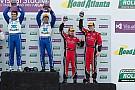 Gurney and Fogarty score third consecutive 2013 podium finish at Road Atlanta