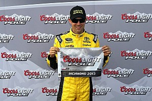 NASCAR Cup Qualifying report Kenseth aces Richmond pole for a new track record