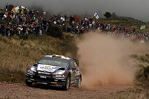 WRC Leg report Novikov moves up to podium position for Qatar M-Sport