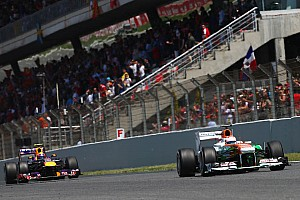 Formula 1 Race report Points for Sahara Force India team at Barcelona