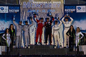 ALMS Race report Another Victory for NGT Motorsport Team at Laguna Seca