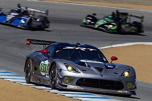 ALMS Race report SRT Motorsports saw improvements at Laguna Seca
