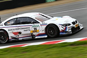 DTM Qualifying report Martin Tomczyk does it quickly - pole at Brands Hatch